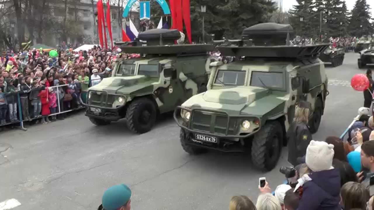 Военная техника День Победы Ульяновск