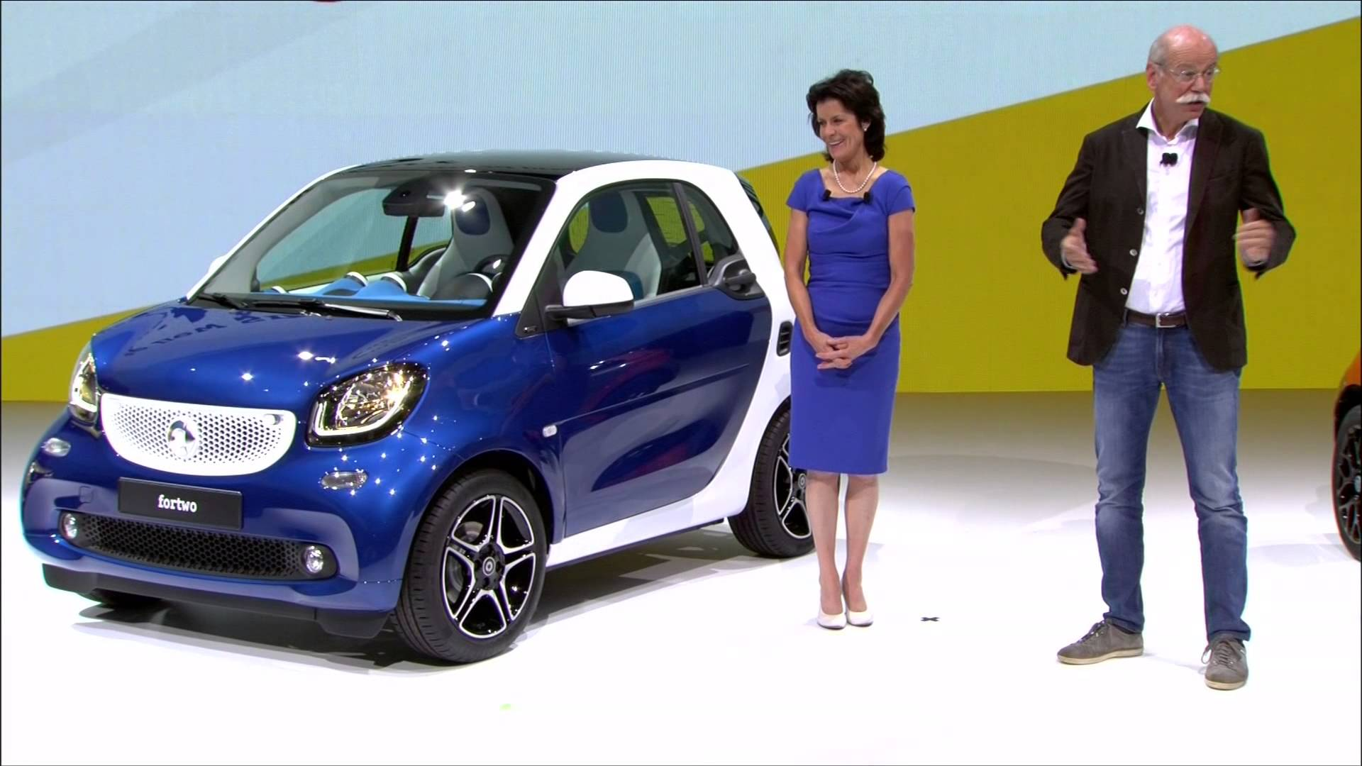 2015 Smart ForTwo and ForFour World Premiere