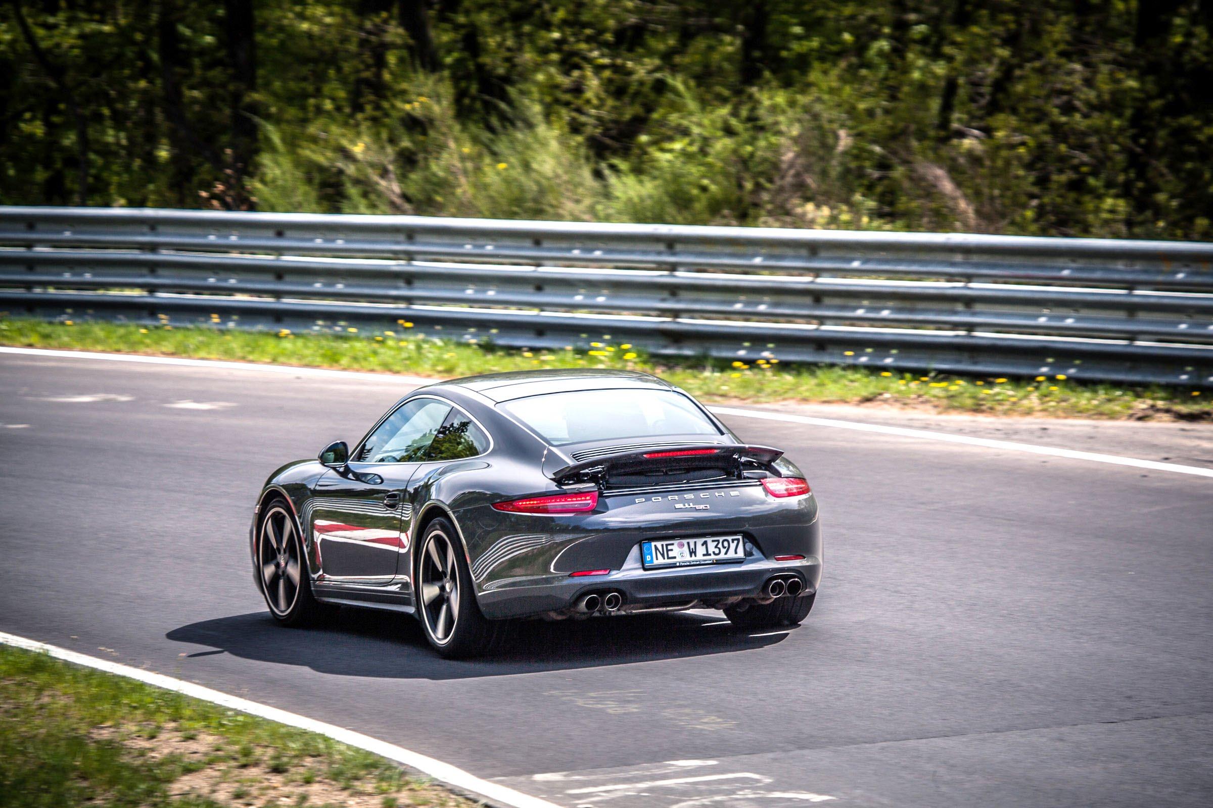 Sport&Safety. Nurburgring. Nordschleife. Porsche  Carrera S Jubilee. 7:50:808 BTG